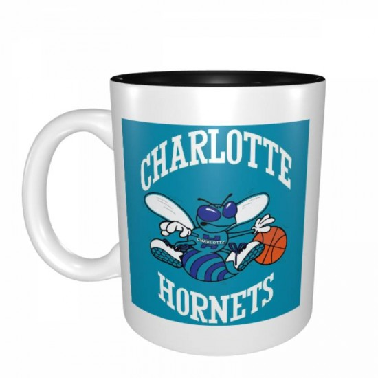 Designed with strong ceramic construction, Charlotte Hornets Mugs #276303 made of lead-free, cadmium-free, high quality ceramic. Suitable for hot and cold drinks.