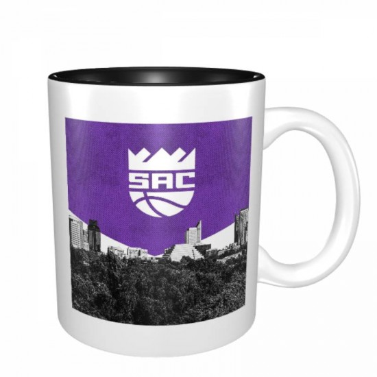 Designed with strong ceramic construction, Sacramento Kings Mugs #271764 made of lead-free, cadmium-free, high quality ceramic. Suitable for hot and cold drinks.