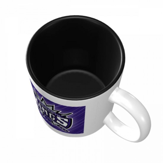 Designed with strong ceramic construction, Sacramento Kings Mugs #271927 made of lead-free, cadmium-free, high quality ceramic. Suitable for hot and cold drinks.