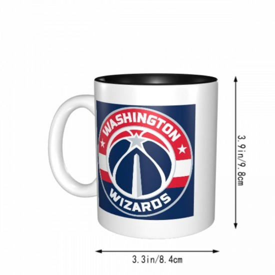 Printed in sublimation. Washington Wizards Mugs #275513 Design is funny unique and fit for all users